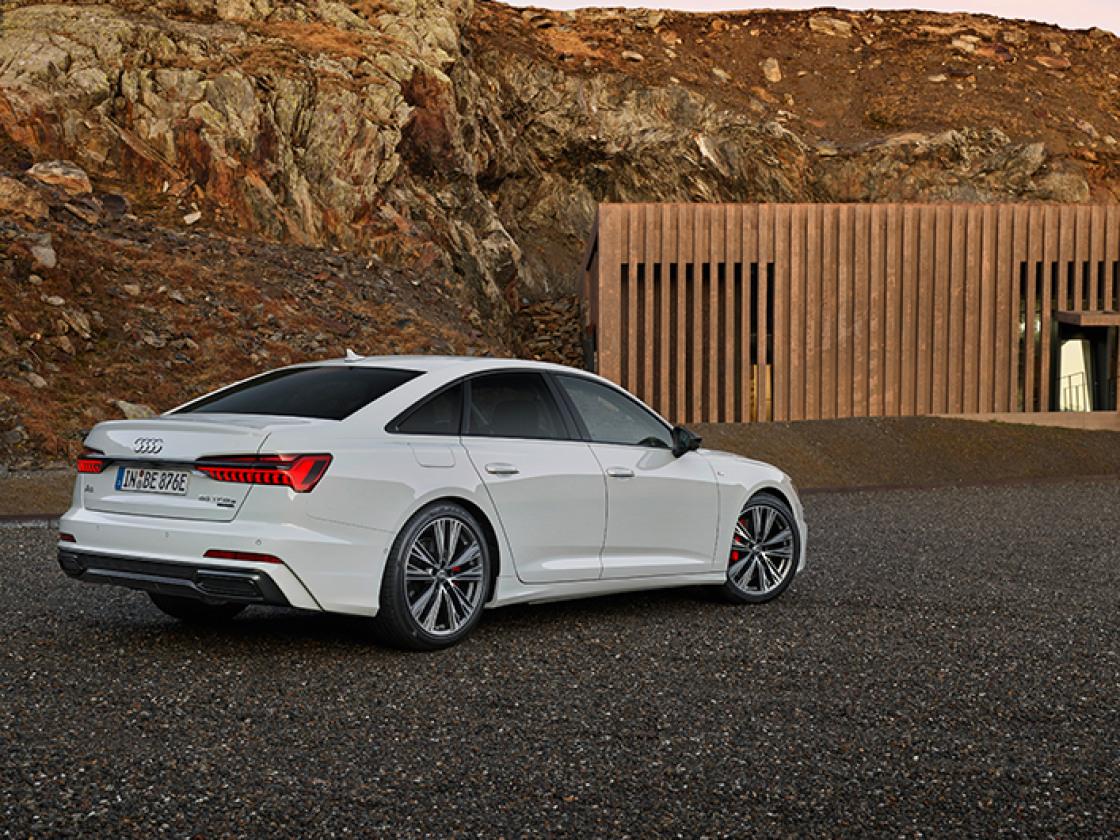 Audi A6 Limousine wit