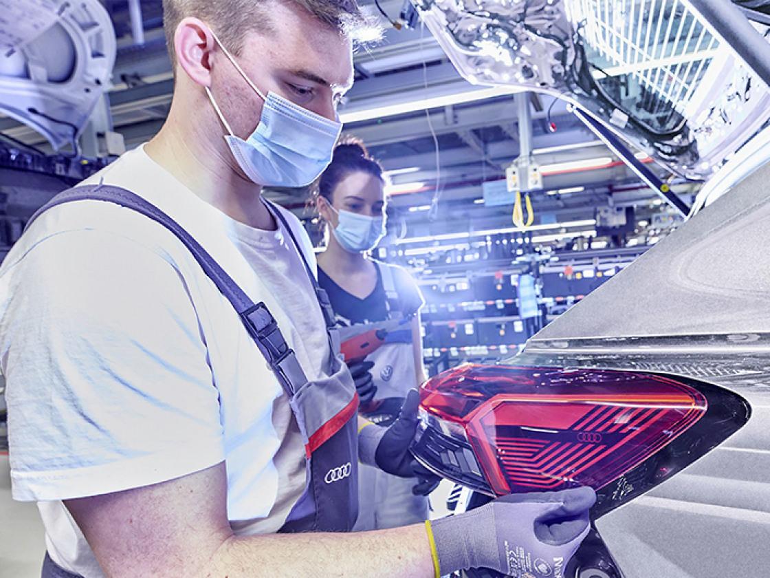 Audi start productie Q4