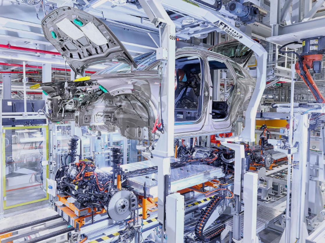 Fabriek Audi Q4