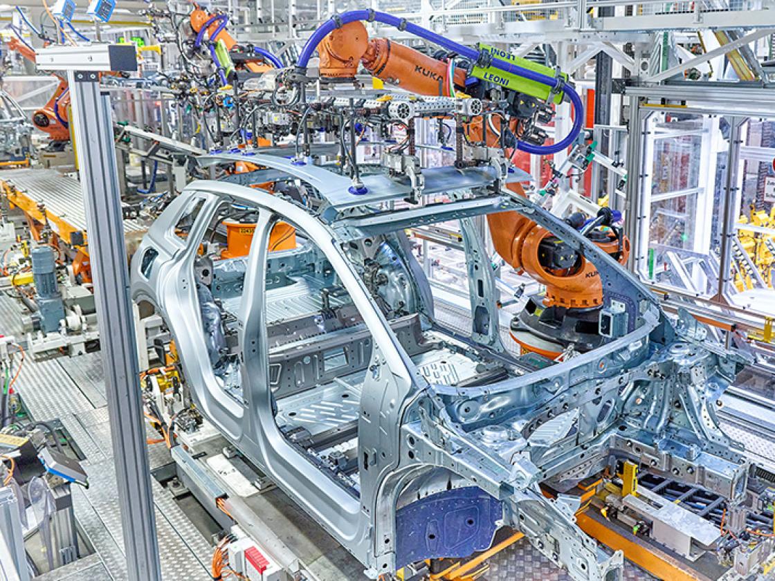 Start productie Audi Q4