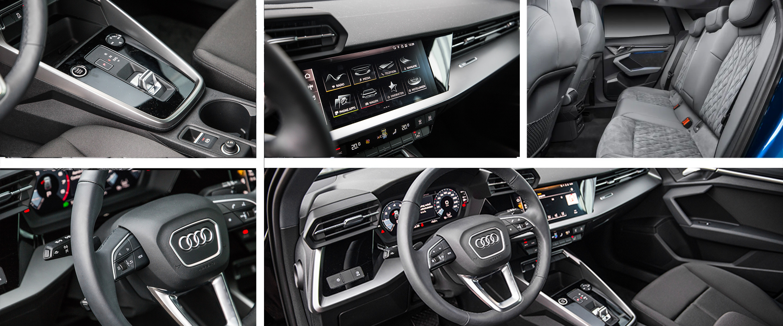 Audi A3 brede afbeelding interieur