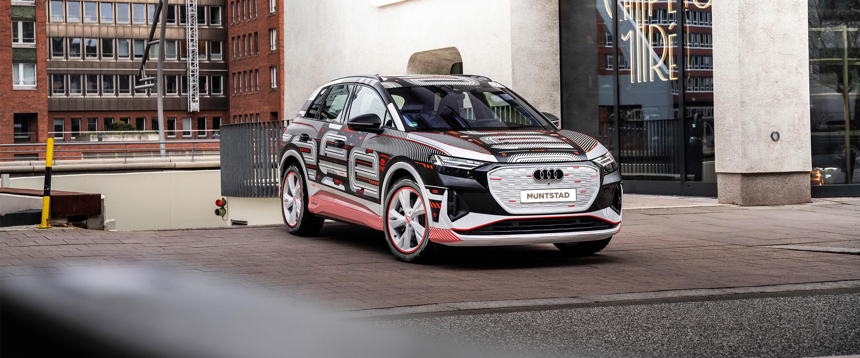 Voorbeeld van de Audi Q4