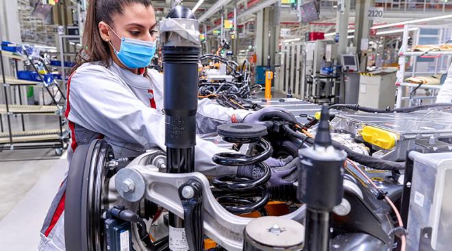 Start productie Q4 Audi