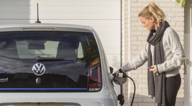 elektrisch rijden thuis opladen