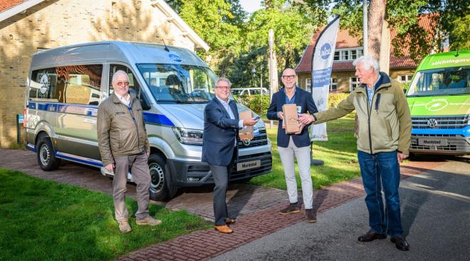 E-crafter bussen eerste afgeleverd