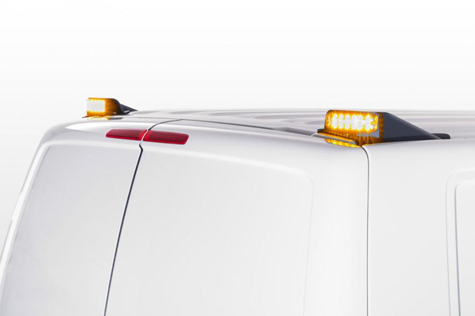 Whelen verlichting bedrijfswagens bij Muntstad